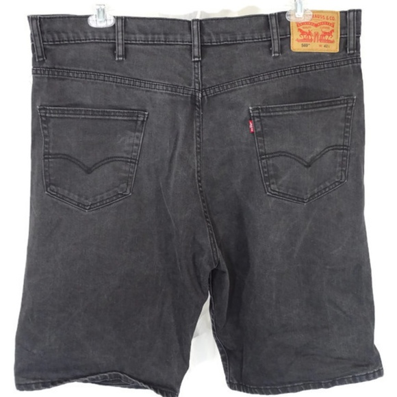 1a391d61 Levi's Shorts | Levis 569 Jean Denim Men Size 42 Black | Poshmark